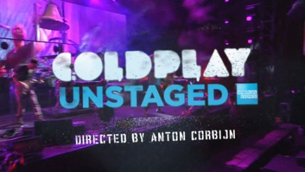 Coldplay Unstaged Anton Corbijn